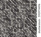 vector seamless black and white ... | Shutterstock .eps vector #593974496