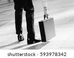 hand of businessman carry a... | Shutterstock . vector #593978342