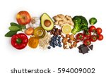 Selection Of Healthy Food On...