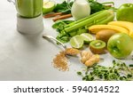 prepared ingredients for... | Shutterstock . vector #594014522