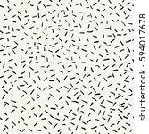 vector seamless pattern. trendy ... | Shutterstock .eps vector #594017678
