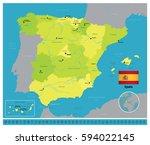 spain | Shutterstock .eps vector #594022145