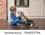 Cute Nice Little Puppy English...