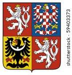 czech republic coat of arms ... | Shutterstock . vector #59403373