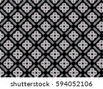 a hand drawing pattern made of... | Shutterstock . vector #594052106