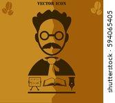 Professor Vector Icon Educatio...