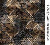 seamless pattern wild design.... | Shutterstock . vector #594067646