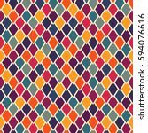 seamless geometric pattern with ...   Shutterstock .eps vector #594076616