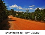 thai road in the jungle under... | Shutterstock . vector #59408689