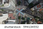 Top View Of Intersection