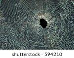 Smashed Up Glass