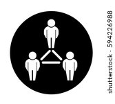 people network icon | Shutterstock .eps vector #594226988