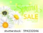 springr sale concept. summer... | Shutterstock . vector #594232046