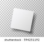 box isolated on transparent... | Shutterstock . vector #594251192