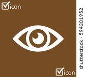 eye icon. monitoring and...
