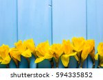 Spring Easter Background With...