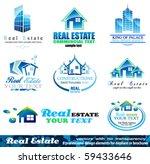 real estate design elements  ... | Shutterstock .eps vector #59433646