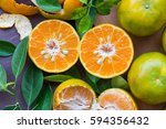 Still Life With Orange On Brow...