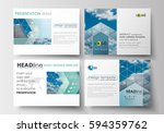 set of business templates for... | Shutterstock .eps vector #594359762