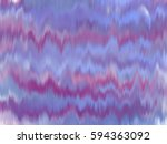 abstract purple pink blue ikat... | Shutterstock . vector #594363092