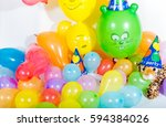colorful balloons for party...