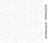 vector triangles seamless... | Shutterstock .eps vector #594412142