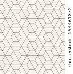 vector seamless pattern. modern ... | Shutterstock .eps vector #594461372