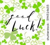 Good Luck Inscription.saint...