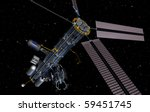 Orbital Refueling Station - stock photo