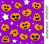 halloween seamless pattern ... | Shutterstock . vector #59455357