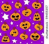 halloween seamless pattern ... | Shutterstock . vector #59455357