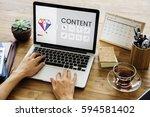 graphic design icon creative...   Shutterstock . vector #594581402