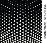 geometric triangle halftone... | Shutterstock .eps vector #594641156