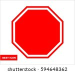 red stop sign  road sign