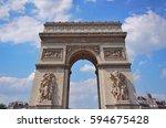 france paris 2016 08 19   the... | Shutterstock . vector #594675428