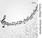 vector music  background ...   Shutterstock .eps vector #594677072