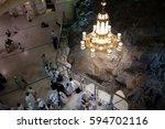 mecca  saudi arabia   1... | Shutterstock . vector #594702116
