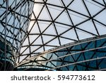 details of modern architecture | Shutterstock . vector #594773612