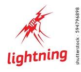 lightning   Shutterstock .eps vector #594796898