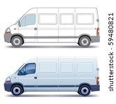 white commercial vehicle  ... | Shutterstock .eps vector #59480821