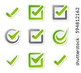 check box icons of vote mark...