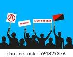 vector illustration of the... | Shutterstock .eps vector #594829376