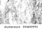 black and white halftone... | Shutterstock . vector #594849995