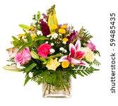 Colorful Flower Bouquet...
