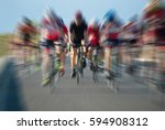 cycling competition cyclist... | Shutterstock . vector #594908312