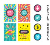 sale website banner templates.... | Shutterstock . vector #594939545