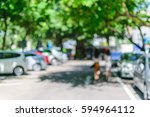 blurred background   office or... | Shutterstock . vector #594964112