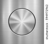 metal abstract technology... | Shutterstock .eps vector #594972962