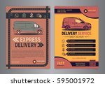 set of express delivery service ...   Shutterstock .eps vector #595001972