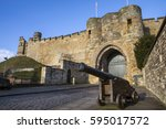 a view of the historic lincoln... | Shutterstock . vector #595017572